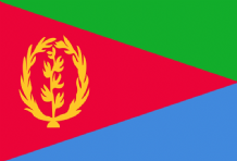 ERITREA - HAND WAVING FLAG (MEDIUM)